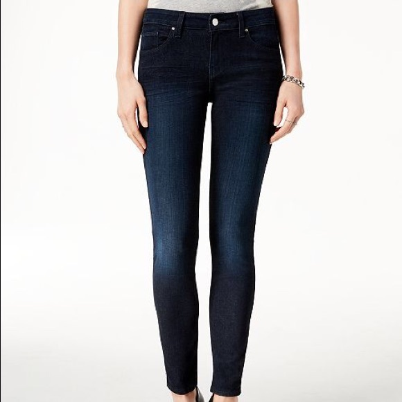 Guess Denim - Guess Jeans Power Skinny Low Dark Wash Size 25
